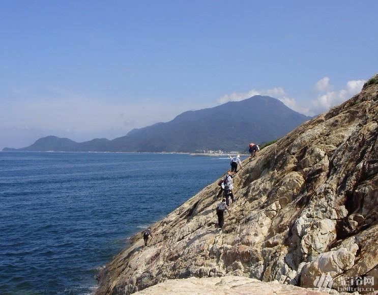 (2)12月20日最美丽的海岸线:'桔钓沙—杨梅坑'海岸线徒步穿越-户外活动图-驼铃网