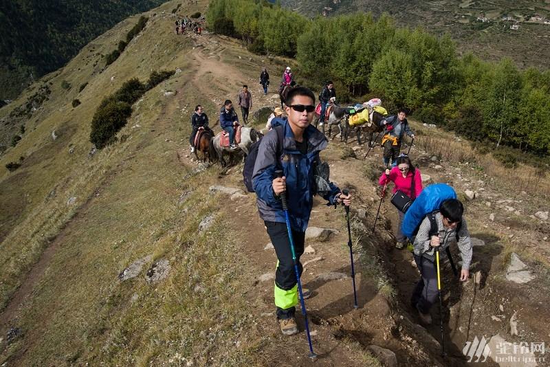 (4)【足迹户外】2015年正在召集 四姑娘山长坪沟徒步及二峰攀登(初次尝试攀登5000米雪山 -户外活动图-驼铃网