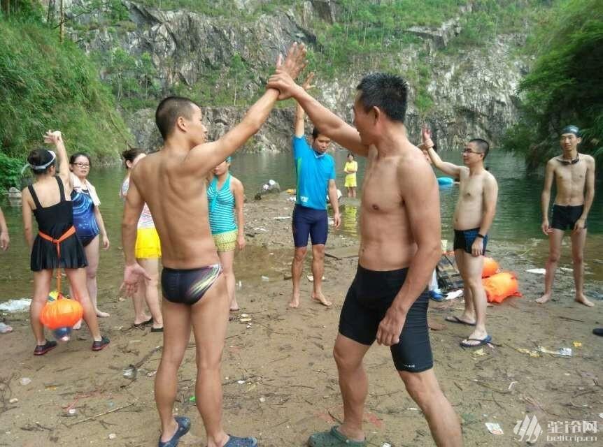 (3)32期领队实践交流——户外技能,水上救生,实践交流-户外活动图-驼铃网