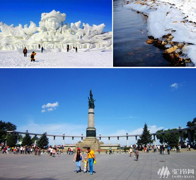 (7)冰雪纯玩游东北——哈尔滨-大雪谷穿越-爸爸去哪摄影基地-中国雪乡-魔界-长白山-雾凇岛赏雪7日游  -户外活动图-驼铃网