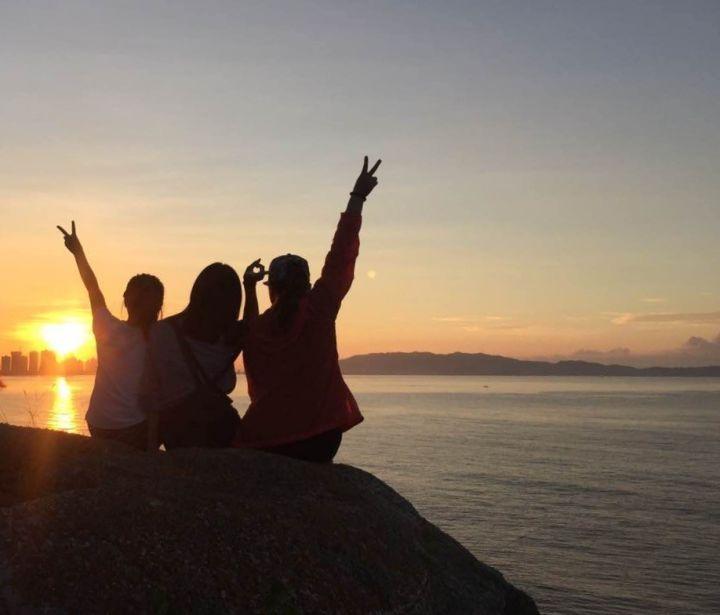 (10)【醉美之景】10.29(周日)徒步穿越惠东狮子岛海岸线,偶遇惠州天空之镜-户外活动图-驼铃网