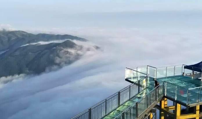(13)【金子山天梯+玻璃桥】11.18(周六)攀天梯登金子山,挑战广东『最惊险』玻璃桥-户外活动图-驼铃网