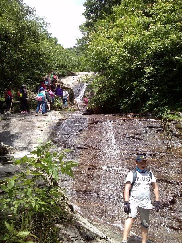 (6)6月24日-驴行记-大悟三天门观彩虹大瀑布探险纵山玩水之旅-户外活动图-驼铃网