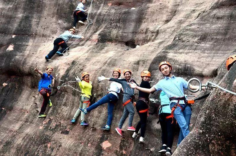 (5)【攀登体验】10月14日,挑战岭南第一攀,体验岩壁上的舞蹈---飞拉达-户外活动图-驼铃网