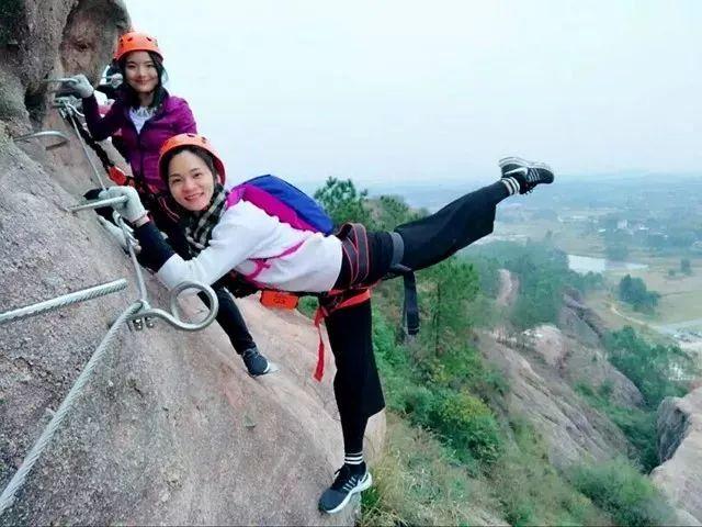 (7)【攀登体验】10月14日,挑战岭南第一攀,体验岩壁上的舞蹈---飞拉达-户外活动图-驼铃网