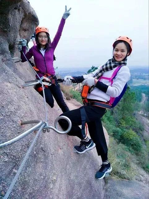 (8)【攀登体验】10月14日,挑战岭南第一攀,体验岩壁上的舞蹈---飞拉达-户外活动图-驼铃网