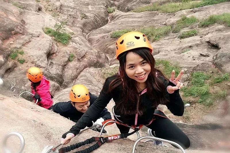 (12)【攀登体验】10月14日,挑战岭南第一攀,体验岩壁上的舞蹈---飞拉达-户外活动图-驼铃网