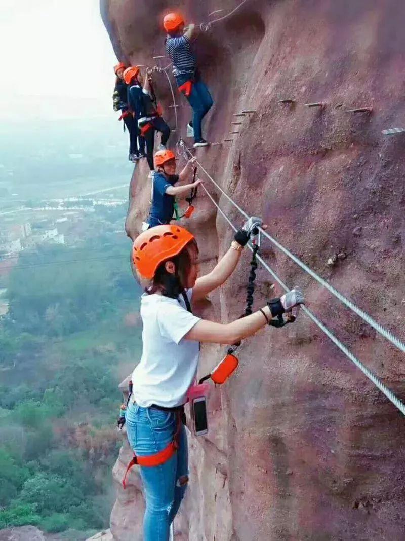 (21)【攀登体验】10月14日,挑战岭南第一攀,体验岩壁上的舞蹈---飞拉达-户外活动图-驼铃网
