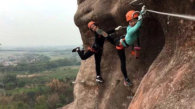 (9)【攀登体验】10月14日,挑战岭南第一攀,体验岩壁上的舞蹈---飞拉达-户外活动图-驼铃网