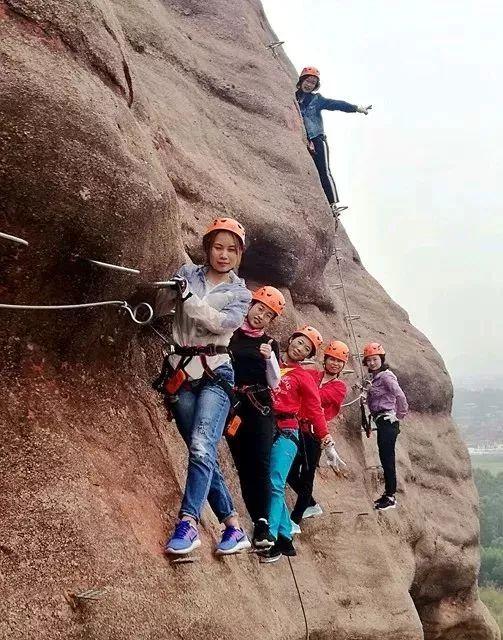 (11)【攀登体验】10月14日,挑战岭南第一攀,体验岩壁上的舞蹈---飞拉达-户外活动图-驼铃网