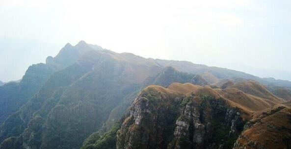 (7)11.25挑战穿越广东小龙斗峰--佛冈猪咸脑山-户外活动图-驼铃网