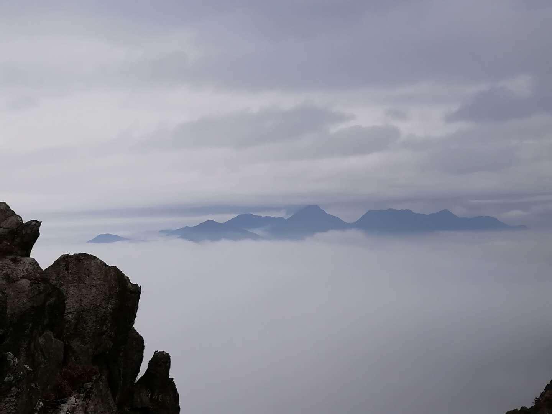(11)11.25挑战穿越广东小龙斗峰--佛冈猪咸脑山-户外活动图-驼铃网