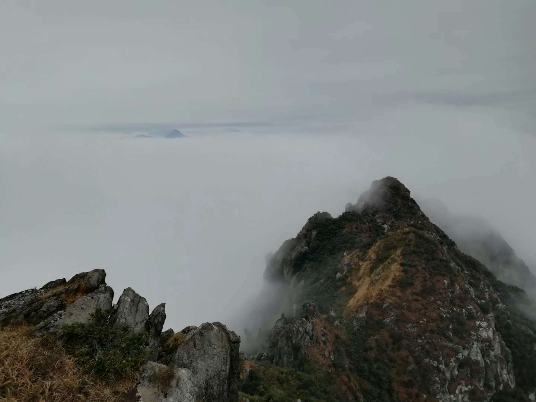 (6)11.25挑战穿越广东小龙斗峰--佛冈猪咸脑山-户外活动图-驼铃网