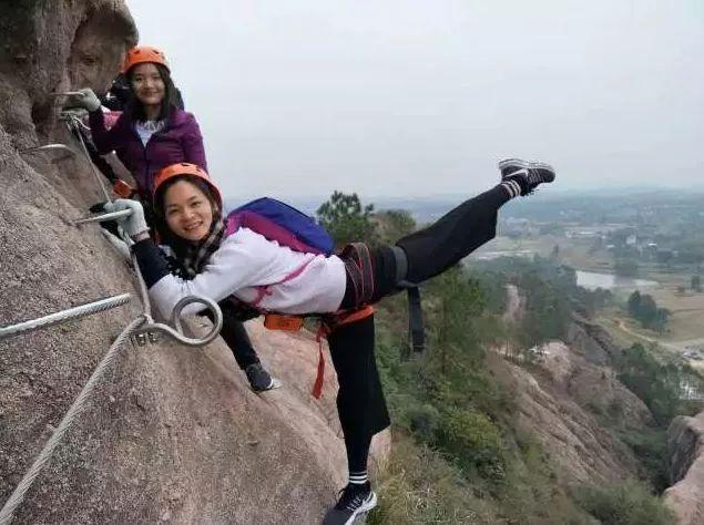 (6)火热报名!每周六日出发,【马头石铁索栈道】| 马头山极限攀岩、亚洲第一高屋顶-户外活动图-驼铃网