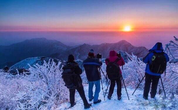 (8)【五岳衡山】冬季南岳衡山看雪|南方最美的雾凇 12.14-16汽车出发-户外活动图-驼铃网