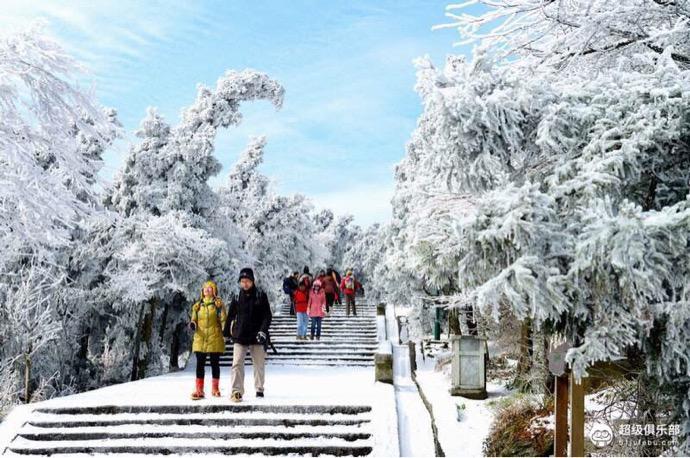 (10)【五岳衡山】冬季南岳衡山看雪|南方最美的雾凇 12.14-16汽车出发-户外活动图-驼铃网