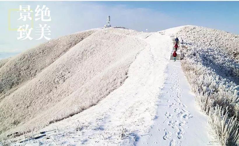 (10)【白色武功山】元旦汽车团 相约武功山 看漫天白雪 赏最美冰挂-户外活动图-驼铃网