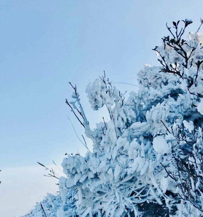 (7)火爆线路【刺激挑战】元旦三期出发 登南岳小华山金子山天梯 赏最美冰挂 雾淞 玻璃桥上观云海-户外活动图-驼铃网
