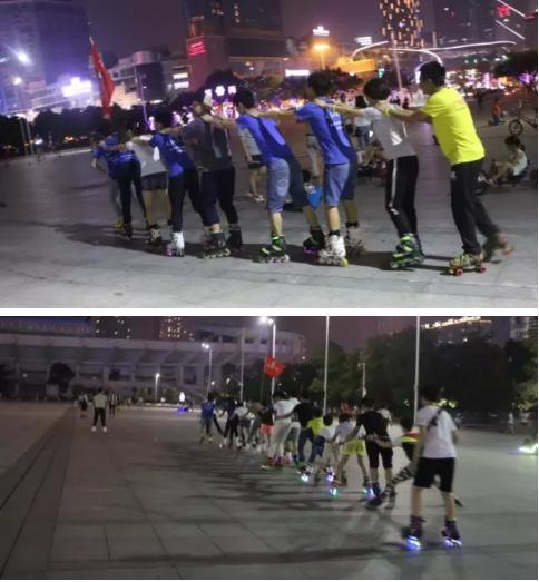(3)[周三] 体育中心 轮滑刷街 轻松上路 免费教学-户外活动图-驼铃网