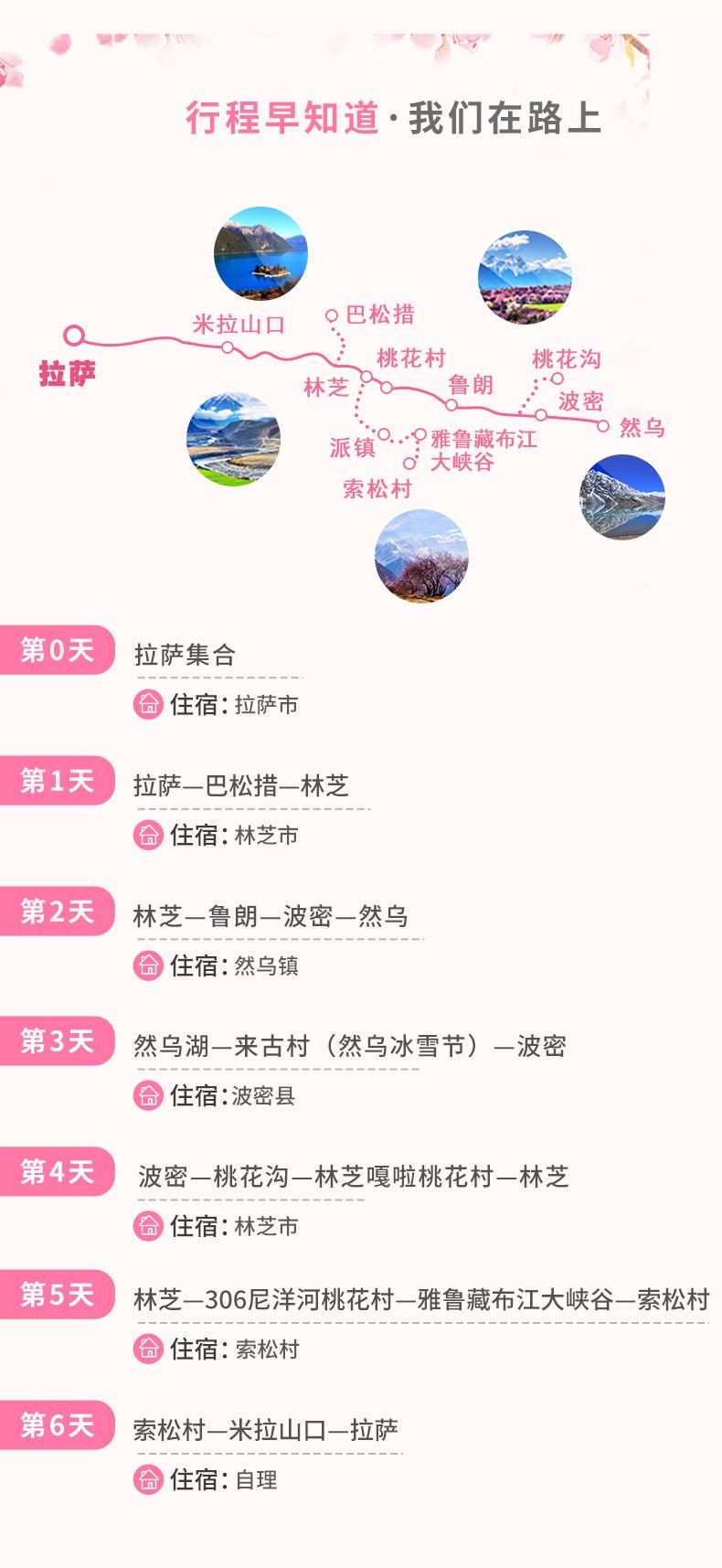 (11)2019冰雪包裹的桃花才是最美春天 ——林芝桃花节+波密桃花+雅鲁藏布大峡谷+然乌湖+巴松措6日游-户外活动图-驼铃网