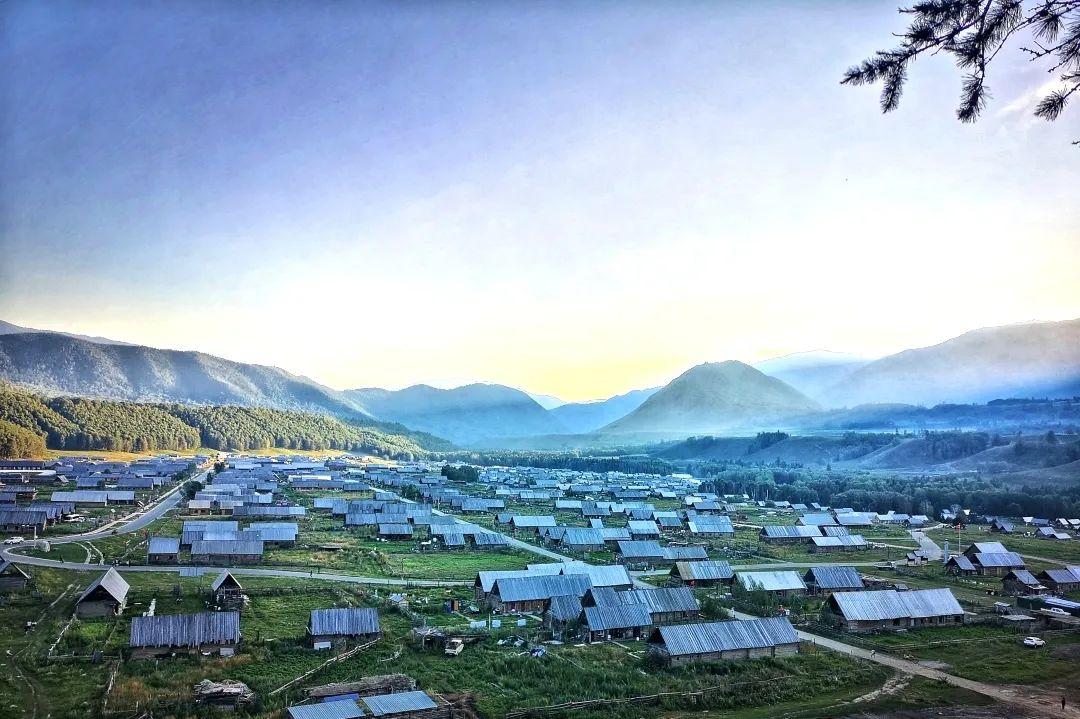 (17)2020新疆是个好地方    绝色风光—喀纳斯8日深度游-户外活动图-驼铃网