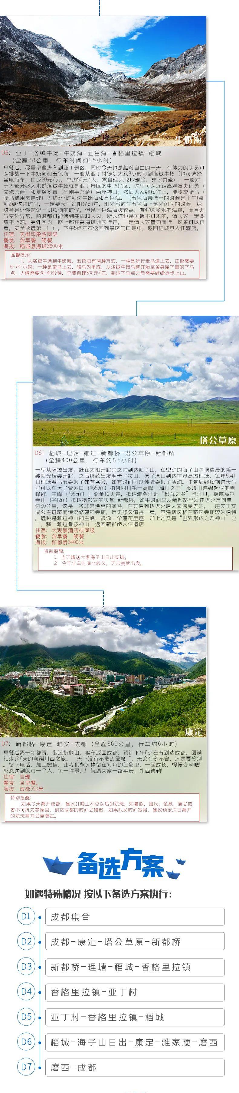 (9)【海稻传奇】稻城亚丁海螺沟红石滩冰川深度7日游-户外活动图-驼铃网