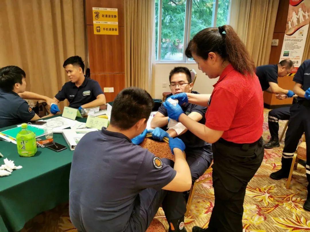 (14)学习急救拯救生命,CCR急救员广州开班啦!-户外活动图-驼铃网