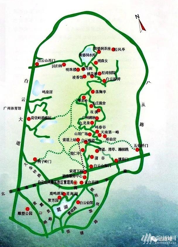 (8)广州白云山最全攻略(深度解读)-户外活动图-驼铃网