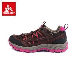 极地登山鞋女低帮耐磨防滑减震透气徒步鞋大码秋冬户外鞋