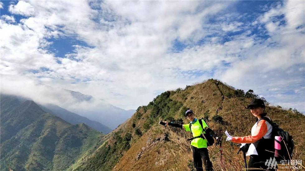 (11)千米山峰之恋;拉胡线穿越水底山,-户外活动图-驼铃网