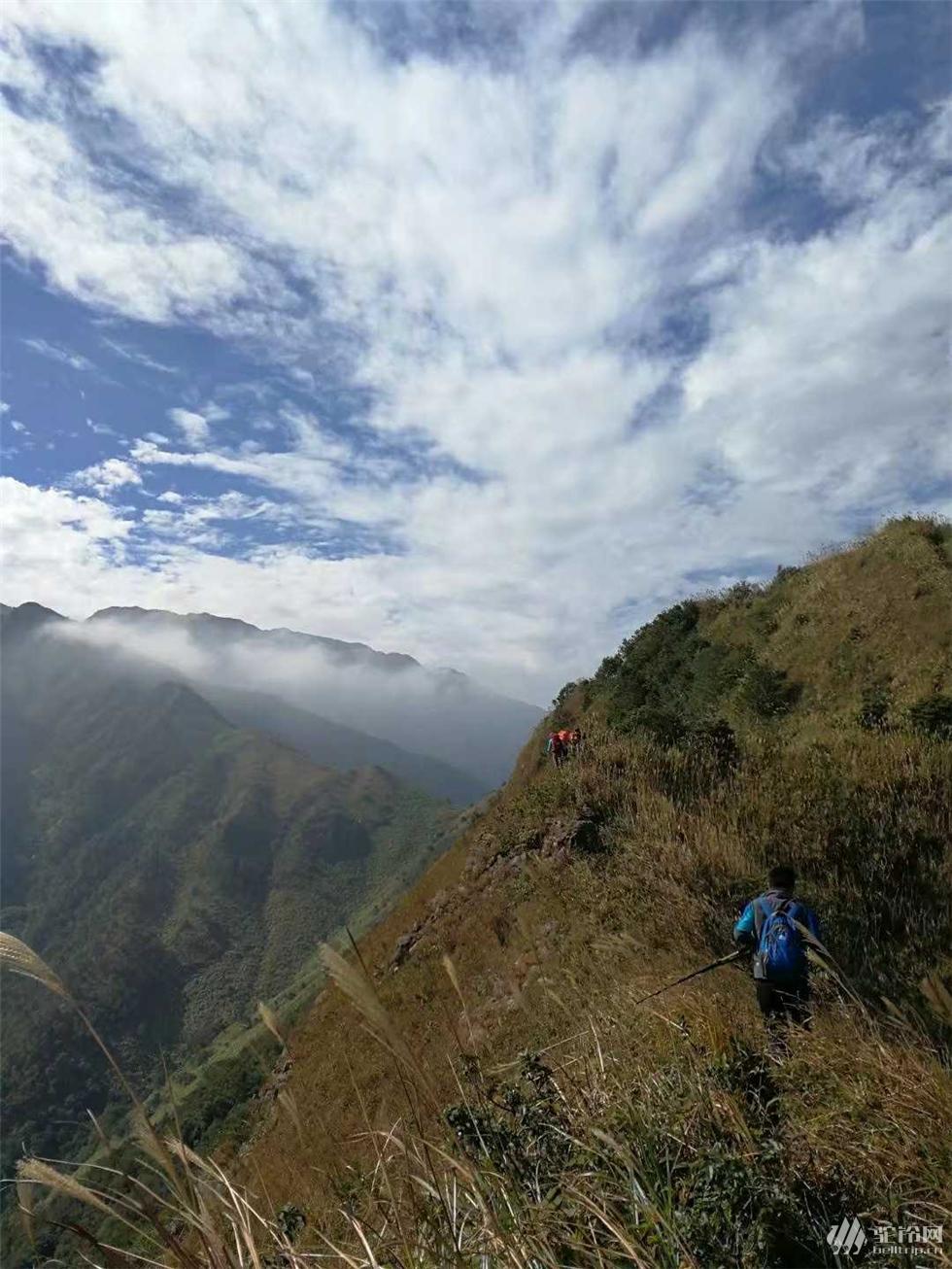 (13)千米山峰之恋;拉胡线穿越水底山,-户外活动图-驼铃网