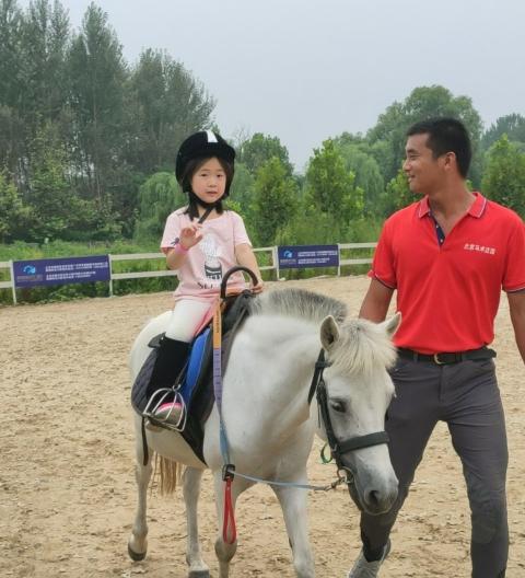 (9)北京亲子户外马术体验-户外活动图-驼铃网