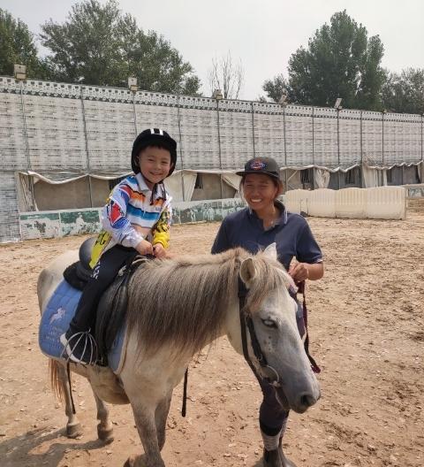(7)北京亲子户外马术体验-户外活动图-驼铃网